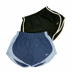 Lot 2 Nike Running Shorts Inner Lined Stretch
